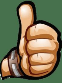 logo geelwitjes alleen duim links